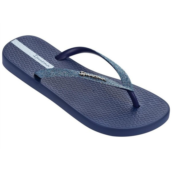 Ipanema Shoes   Sparkle Flip Flops